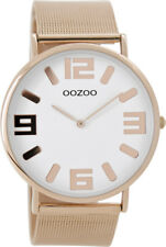 Oozoo Vintage Unisexuhr �˜42mm Milanaiseband 5 Farben superflach 8880-8884