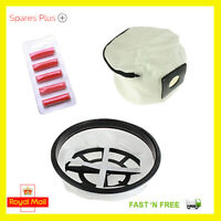 For Numatic Henry Hetty James Zip Up Reusable Vacuum Cleaner Hoover Bag + Filter