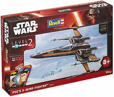 Revell 06692. Star Wars - Caccia X-Wing Poe . Scala 1/50
