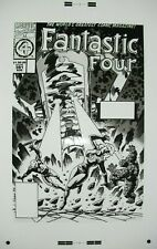 Original Production Art FANTASTIC FOUR #391 cover, PAUL RYAN art, 11x17