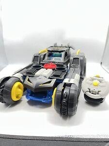 Imaginext DC Super Friends Batman Transforming Batmobile RC Remote Control B205