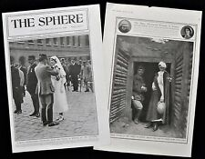 CHARLOTTE MAITRE DUITTOZ LEGION D'HONNEUR FIRST WORLD WAR 2pp PHOTO ARTICLE 1917