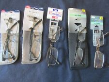 Lot of 5 pair Men's  Reading glasses FOSTER GRANT 1.50