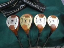 Ben Hogan 1953 persimmon wood set 1,3,4,5