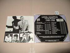 Lionel Hampton Classics 1949-1950 - 2001 cd Excellent + condition