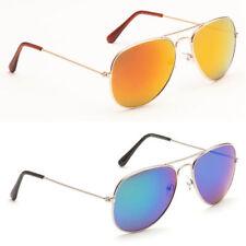 Aviator Mirrored 100% UV Sunglasses for Men