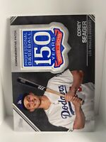 🔥2019 Topps 150th Anniversary Patch Relic Corey Seager Los Angeles Dodgers 🔥