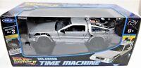 MODELLINO AUTO MACCHINA RITORNO AL FUTURO 2 DUE SCALA 1:24 DELOREAN CAR MODEL