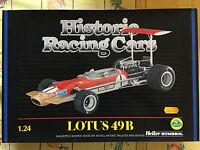 HELLER HISTORIC RACING CARS LOTUS 49B 1:24!!!