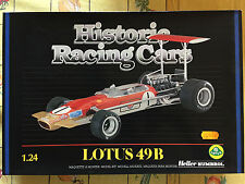 HELLER HISTORIC RACING CARS LOTUS 49B 1:24!!!