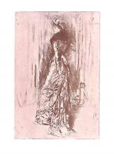 Maude Franklin.Artist.Model.James McNeill Whistler.1907.Art.Fashion