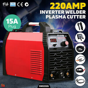Inverter 220Amp Welder Plasma Cutter TIG iGBT DC Portable Welding Machine