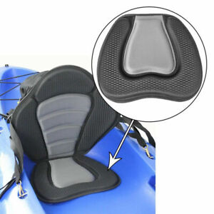 Soft Padded Kayak Seat Deluxe Detachable Boat Seats Comfortable Cushion Pad new