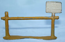 RARE Vintage Britain's Lead cast Signed T & B - DONKEY RIDE SIGN - 2d ALL DAY