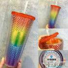 Starbucks China 2021 Valentine's 24oz Rainbow Diamond Studded Cup Tumbler