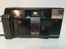 Minolta Freedom III 35mm Film Camera w/ f2.8 35mm Lens AF