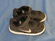Toddler Boy's/Girl's Nike Flex Experience 4 Black & White Athletic Shoes Size 8