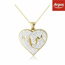 Argos Yellow Gold Fine Necklaces & Pendants without Stones
