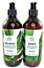 AG Hair  balance Sulfate-free Shampoo and boost conditioner, 12 fl. oz.
