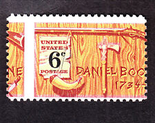 US 1357 6c Daniel Boone Mint EFO Misperf OG NH