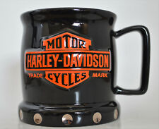 Harley Davidson Coffee Mug from Thailand Excellent with Bling Official Licence