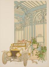 Original Vintage Poster - Noyer Denis-Paul - La Grande Cascade - Paris - 1979