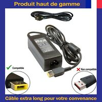 Chargeur d'Alimentation 20V 2.25A Connecteur USB Pour Ordinateur Portable Lenovo