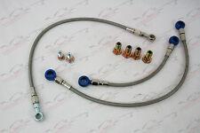 Braided Oil & Water Turbocharger Line Kit Nissan Silvia 200sx S14 S15 SR20DET