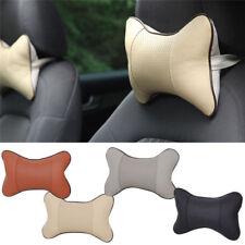 Cushion Car Seat Pillow Neck Rest Head Headrest Memory Foam Office Support Chair