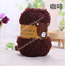 50g Super Soft Double Knitting Yarn Natural Wool Acrylic Baby Smooth Ball NE