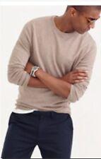 J.Crew Slim softspun crewneck sweater carmel tan Mens  size M NWT