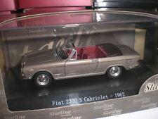 Starline Models 509619 - Fiat 2300 S Cabrio 1961 grigio met - 1:43 Made in China
