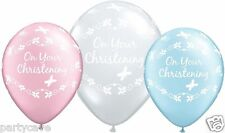 Qualatex Christening Party Standard Balloons