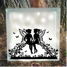 Vinyl Fairy Decal/Wall/Laptop/Tablet /Car Decal/Art n Crafts/Fairy Jars /Stkcers