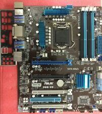 ASUS P8B WS Motherboard LGA1155 C206 4x PCIE x16 + IO Backplate 100% Working