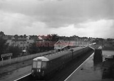 PHOTO  DMU 2 X 3 CAR INTER CITY SETS WITH W50663 LEADING NEAR EBBW CURVE WITH TH