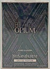 💝Yves Saint Laurent BLACK OPIUM PURE ILLUSION EdP Natural Spray 50 ml OVP/NEU