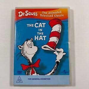 Dr Seuss - Cat In The Hat (DVD, 2004) 1957 series Region 2,4