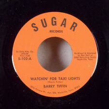"""Barry Tiffin Watchin' For Taxi Lights 7"""" 45 Sugar Records M-"""
