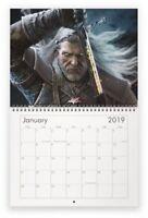 The Witcher Video Game Mini (16 x 21 cm) Wall Calendar 2020