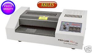Akiles Prolam Plus 160 Pouch Laminator Machine 6.3-inch Hot & Cold [New]