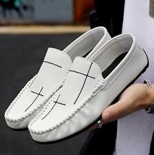 Men Driving Moccasin Casual Leisure Loafers Shoes Pumps Slip on Flats Breathable