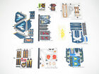 Lego ® Planche Stickers Autocollants Décorations Nexo Knights Choose Model NEW