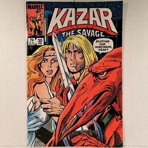 Ka-Zar the Savage - Vol. 1, No. 30 - Marvel Comics - February 1984 - Buy It Now!
