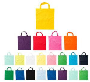 Baumwolltasche 1er 5er 10er Pack Jutetasche unbedruckt zum bemalen viele Farben