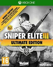 Xbox One Game Sniper Elite 3 III - Ultimate Edition New