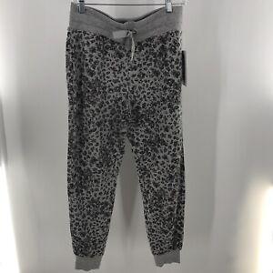 NWT Athleta Women's Balance Jogger Pants Gray Floral Printed Size Small ($89)