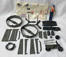 New listing Vintage 1984 G.I. Joe Cutter Hovercraft Pilot Figure w/ Killer W.H.A.L.E. Parts