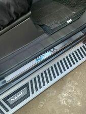 FOR NISSAN NAVARA D40 S.Steel Chrome Door Sill Scratch Guard 4 Doors [2006-2015]