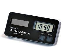 Miniatur Uhr Wecker 8 cm Solar und Batterie Timer mit Ständer von RICHTER / HR